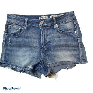 Size 11 cut off jean shorts